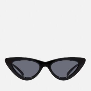 Le Specs Women's The Last Lolita Sunglasses - Black