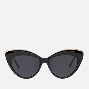 Le Specs Women's Beautiful Stranger Sunglasses - Black