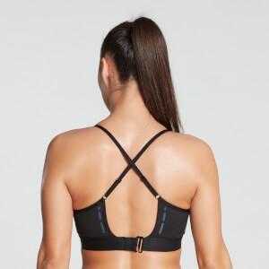MP Women's Power Ultra Strappy Sports Bra- Black