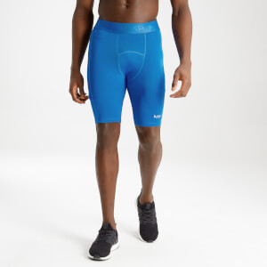MP Men's Essentials Training Base Layer Shorts - True Blue