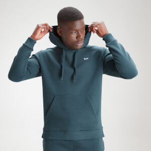MP Men's Essential Hoodie - Deep Sea Blue