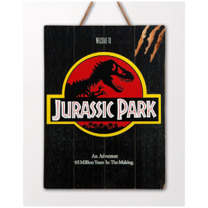 Doctor Collector Jurassic Park Welcome to Jurassic Park WoodArts 3D Print
