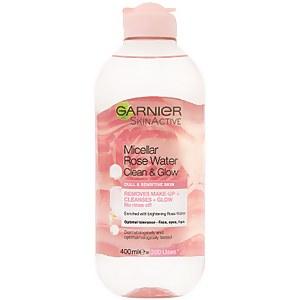 Garnier Micellar Cleansing Rose Water Clean & Glow 400ml
