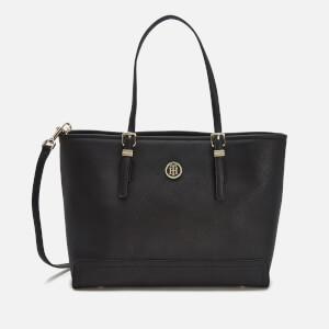 Tommy Hilfiger Women's Honey Medium Tote Bag - Black