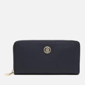 Tommy Hilfiger Women's Honey Large Zip Wallet - Navy