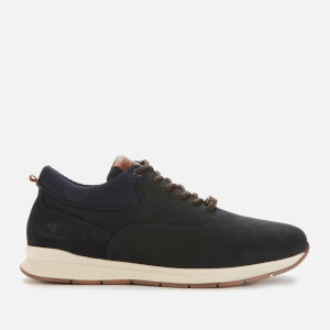 Barbour Men's Langley Oxford Trainers - Navy