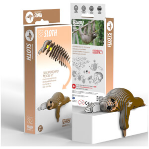 EUGY Sloth 3D Craft Kit