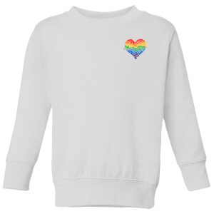 Miss Greedy Love Has No Gender Kids' Sweatshirt - White