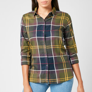 Barbour Women's Moorland Shirt - Olive Check