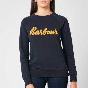 Barbour Women's Otterburn Overlayer Sweatshirt - Navy