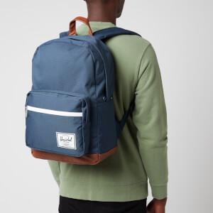 Herschel Supply Co. Men's Pop Quiz Backpack - Navy/Tan
