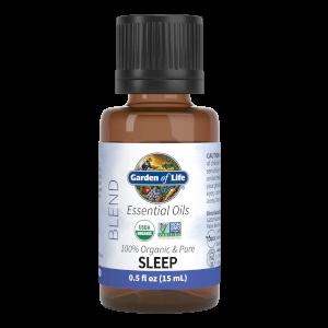 オーガニックエッセンシャルオイル - 睡眠- 0.5oz