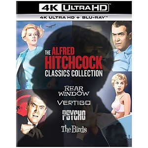 Pack Alfred Hitchcock Classics Collection 4K Ultra HD