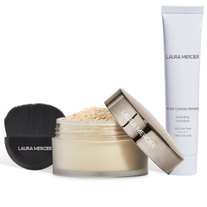 Laura Mercier Exclusive Pure Canvas Primer and Translucent Loose Setting Powder Glow Set