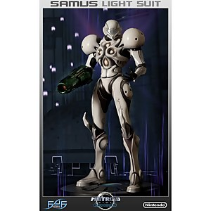 First 4 Figures Metroid Prime Echoes (Samus Light Suit) Resin Statue
