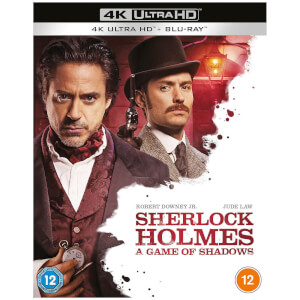 Sherlock Holmes: A Game of Shadows - 4K Ultra HD (Includes 2D Blu-ray)