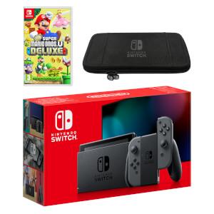 Nintendo Switch (Grey) New Super Mario Bros. U Deluxe