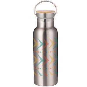 Arrows Portable Insulated Water Bottle - Steel