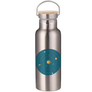 Solar System Portable Insulated Water Bottle - Steel