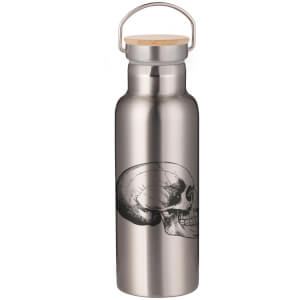 Skull Portable Insulated Water Bottle - Steel