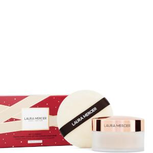 Laura Mercier Set to Perfect Translucent Loose Setting Powder and Puff Set - Translucent 29g (Worth £56.00)