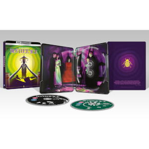 Beetlejuice - Zavvi Exklusives 4K Ultra HD Steelbook (Inkl. 2D Blu-ray)