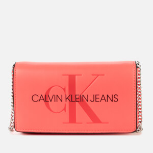 Calvin Klein Jeans Women's Phone Cross Body Bag - Fluo Pink