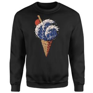 Ilustrata Kanagawa Flavour Sweatshirt - Black