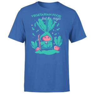 Ilustrata Feel The Magic Men's T-Shirt - Royal Blue