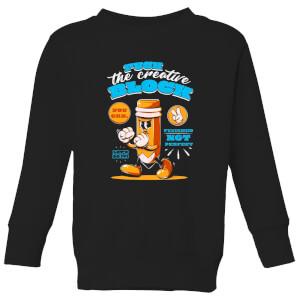 Ilustrata You Can Kids' Sweatshirt - Black