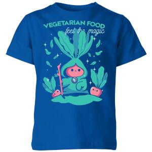 Ilustrata Feel The Magic Kids' T-Shirt - Royal Blue