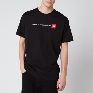The North Face Men's Never Stop Exploring T-Shirt - TNF Black