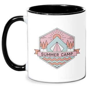 Summer Camp Mug - White/Black