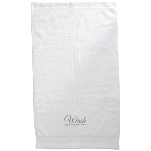 Wash Your Worries Away Embroidered Towel