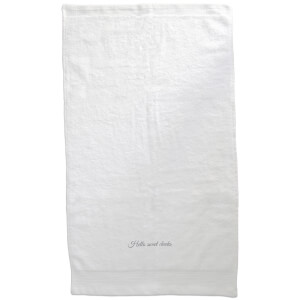 Hello Sweet Cheeks Embroidered Towel
