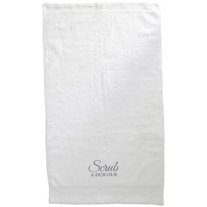Scrub A Dub Dub Embroidered Towel