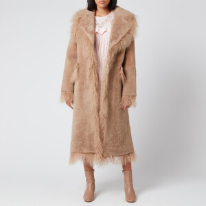 Saks Potts Women's Jimy Coat - Caramel