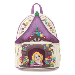 Loungefly Disney Tangled Tower Scene Mini Backpack