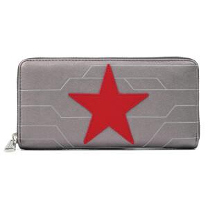 Loungefly Marvel Winter Soldier Cosplay Zip Around Wallet