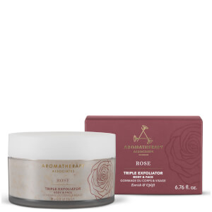 Aromatherapy Associates Exclusive Rose Triple Exfoliator 200ml