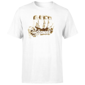 The Goonies Watercolour Men's T-Shirt - White
