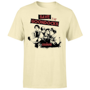 The Goonies Save The Goondocks Unisex T-Shirt - White Vintage Wash