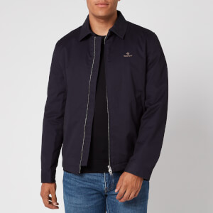 Gant Men's Windcheater Jacket - Evening Blue