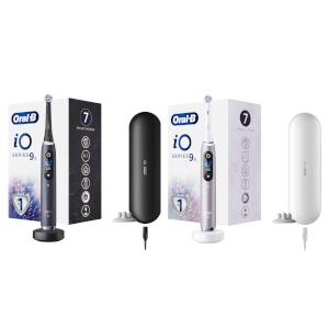 iO - 9s Elektrische Tandenborstel Duopack Zwart & Roze