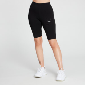 MP Women's Central Graphic Cycling Shorts - Black