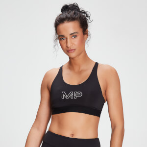 MP Branded Training Sports Bra til kvinder – Sort