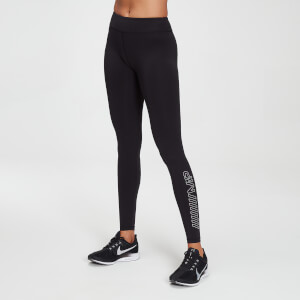 MP Women's Branded Training Leggings – Svart