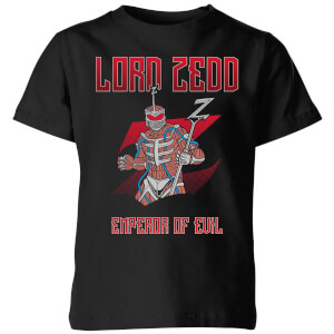 Power Rangers Lord Zedd Kids' T-Shirt - Black