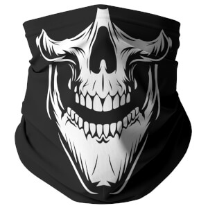 White Skull Snood