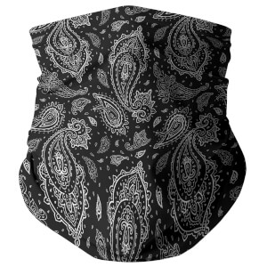 Black Paisley Snood